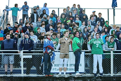 George P. Smith/The Montgomery Sentinel    Georgetown Prep students out to support their boys lacrosse team.