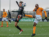 DC United's Zoltán Stieber blocks Houston's DaMarcus Beasley's clear attempt. PHOTO BY MIKE CLARK