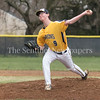 B-CC's James Springer has a big rebound in the bottom of the fourth and overcomes his rocky start. Springer recorded eight strikeouts in four innings. PHOTO BY MIKE CLARK