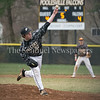 Poolesville's Luke Trythall performs well in relief but B-CC's Sebastian Mieses hits an RBI single in the 8th inning for the 5-4 win. PHOTO BY MIKE CLARK