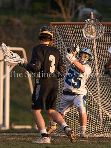 Churchill Goalie Andrew Robinson held Richard Montgomery's offense in check all night. Churchill  kept the ball out of Richard Montgomery's hands with a potent display of offense. PHOTO BY MIKE CLARK
