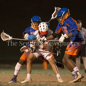 Watkins Mill's smothering defense held Wheaton to only 2 goals in a 6-2 Watkins Mill vicotry on senior night. PHOTO BY MIKE CLARK