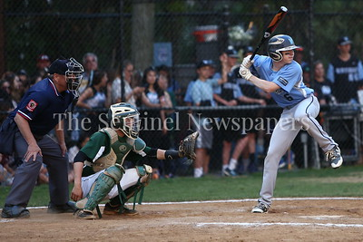 George P. Smith/The Montgomery Sentinel    Walt Whitman High School's Zach Werkman (6) at bat.