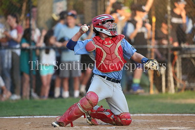 George P. Smith/The Montgomery Sentinel    Walt Whitman High School catcher Jack Ryan (9).