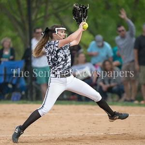 Northwest got solid pitching by Amber Yullie but it wasn't enough to stop the Sherwood bats. Sherwood wins 5-3. PHOTO BY MIKE CLARK