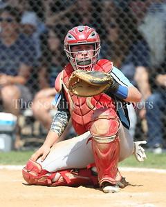 George P. Smith/The Montgomery Sentinel    Walt Whitman High School catcher Jack Ryan (9).