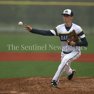 Bethesda-Chevy Chase Pitcher Brendan Hughes held the powerful Quince Orchard offense to a single run as the BCC Barons take the regional finalss with 2-1 eigth inning win. PHOTO BY MIKE CLARK