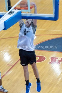 6/25/2018 - Whitman's Michael Bass, Capitol Hoops summer league at DeMatha High School, Good Counsel v Whitman Boys Basketball, ©2018 Jacqui South Photography