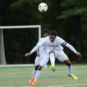 Paint Branch's Bradley Muma and the rest of the Panthers kept the pressure on through two overtime period for a 1-1 tie with Bethesda-Chevy Chase. PHOTO BY MIKE CLARK