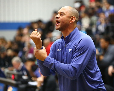 George P. Smith/The Montgomery Sentinel    Blake head coach Dondrell Whitmore.
