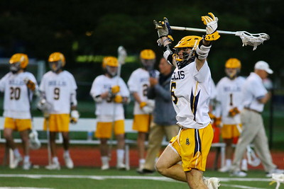 George P. Smith/The Montgomery Sentinel    Bullis' Matt Kelly (6) celebrates after scoring a goal.