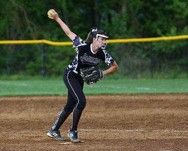 George P. Smith/The Montgomery Sentinel    Northwest's pitcher Amber Yuille (14).