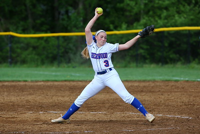 George P. Smith/The Montgomery Sentinel    Sherwood pitcher Samantha Combs (3).
