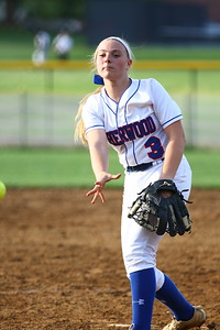 George P. Smith/The Montgomery Sentinel    Sherwood starting pitcher Samantha Combs (3).
