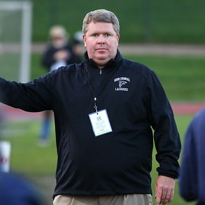 George P. Smith/The Montgomery Sentinel    Good Counsel's head coach Mike Haight.