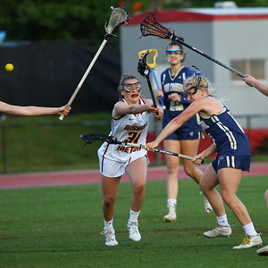 George P. Smith/The Montgomery Sentinel    Good Counsel's Emily King (12) scores for the Falcons.