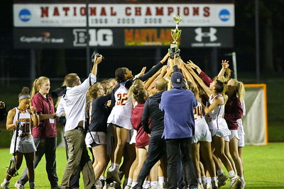George P. Smith/The Montgomery Sentinel    Bishop Ireton defeated Good Counsel 11-7 to with the 2019 WCAC Girls Lacrosse Championship played at the UMCP Ludwig Field on Monday, May 13, 2019.