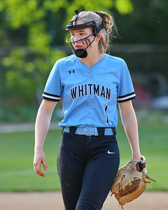 George P. Smith/The Montgomery Sentinel    Walt Whitman catcher Riley Kuehn (1).