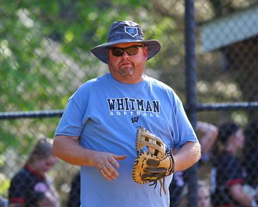 George P. Smith/The Montgomery Sentinel    Whitman co-head coach Karl O'Donoghue.