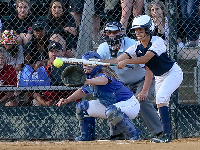 The Bowie Bulldogs could manage only two runs on four hits and fall to Sherwood. PHOTO BY MIKE CLARK