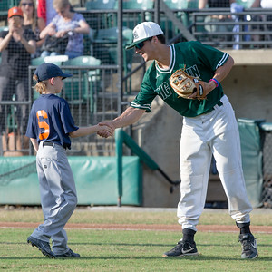June 6, 2019: The Little Leauge Tigers help the Bethesda Big Train open the home season with an 8-0 win over the winless Alexandria Aces. Photo by Mike Clark/The Montgomery Sentinel.