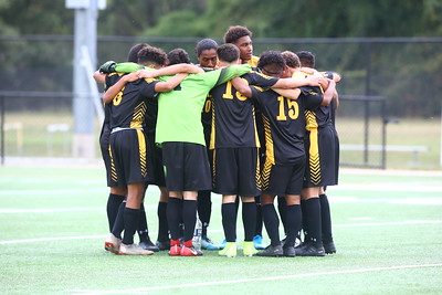 George P. Smith/The Montgomery Sentinel   Richard Montgomery Rockets boys varsity soccer team.
