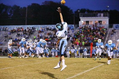 George P. Smith/The Montgomery Sentinel    Clarksburg's Xavier Holmes (2) does his best to get to another overthrown ball.