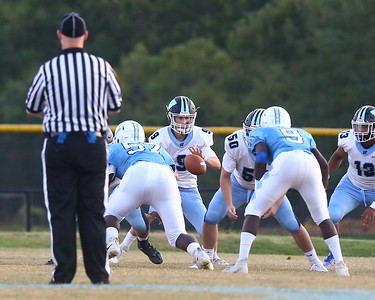 George P. Smith/The Montgomery Sentinel    Clarksburg quarterback Giovanni Marc (9) under center.