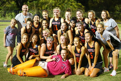 George P. Smith/The Montgomery Sentinel    The division winning Rockville girls varsity field hockey team.