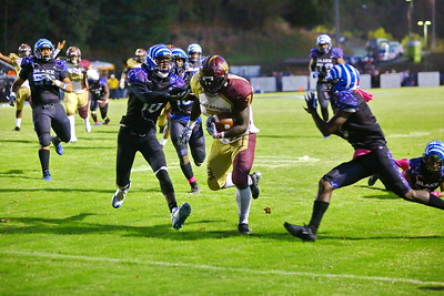 George P. Smith/The Montgomery Sentinel    Paint Branch's Wisdom Agbeyome (7) scoring for the Panthers.