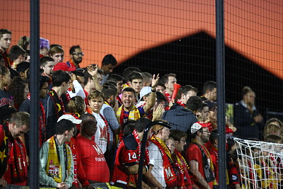 George P. Smith/The Montgomery Sentinel    Maryland fans