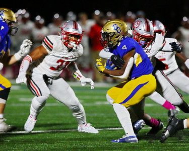 George P. Smith/The Montgomery Sentinel    Good Counsel's Sy'Veon Wilkerson (3).