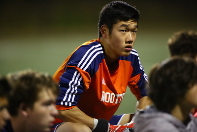 George P. Smith/The Montgomery Sentinel    Wootton's goalie Jonathan Lee (0).