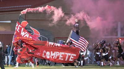 October 25, 2019 - The undfeated   Quince Orchard Cougars get ready to battle the undbeaten Northwest Jaguars. Photo by Mike Clark/The Montgomery Sentinel