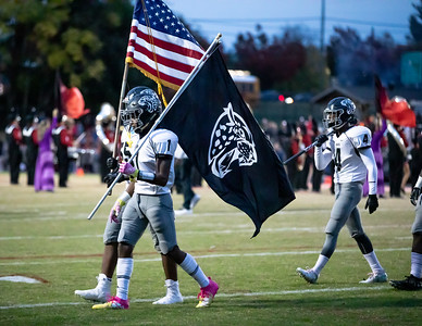 October 25, 2019 - The undfeated Northwest Jaguars enter the  Quince Orchard Cougar Dome in a battle of undbeaten rivals. Photo by Mike Clark/The Montgomery Sentinel