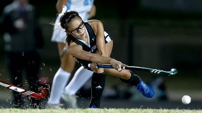 October 28, 2019 - Northwest Midfielder Mikaela Chin fires on goal but the Jaguars could not score on the Clarksburg defense. Clarksburg moves on in the 4A West playoffs with a 1-0 win. Photo by Mike Clark/The Montgomery Sentinel
