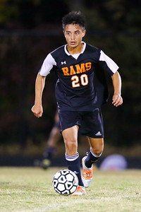 George P. Smith/The Montgomery Sentinel    Rockville's Jefferson Perez (20) who scored one of Rockville's goals.