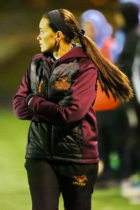 George P. Smith/The Montgomery Sentinel    Bladensburg head coach Juliana Ocampos-Barry.