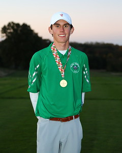 George P. Smith/The Montgomery Sentinel    Walter Johnson's Jake Griffin finished 1st in the Boys 3A/4A Classification of the 2019 MPSSAA Golf Championships played at the University of Maryland Golf Course in College Park, MD with rounds of 71 and 70 for two round total of 141.