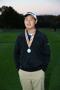 George P. Smith/The Montgomery Sentinel    Sherwood's Bryan Kim finished 2nd in the Boys 3A/4A Classification of the 2019 MPSSAA Golf Championships played at the University of Maryland Golf Course in College Park, MD with rounds of 70 and 72  for a two round total of 142.