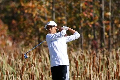 George P. Smith/The Montgomery Sentinel   Churchill's Kaylin Yeoh finished in a 4 way tie for 2nd place in the 2019 Class MPSSAA 3A/4A Golf Championship.