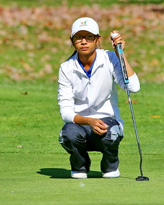 George P. Smith/The Montgomery Sentinel    Churchill's Kaylin Yeoht) finished in a 4 way tie for 2nd in the Girls 3A/4A Classification of the 2019 MPSSAA Golf Championships played at the University of Maryland Golf Course in College Park, MD.