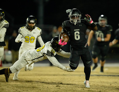 November 15, 2019 - Northwest Running Back Ajahni Terry broke Richard Montgomery tackles all night in the Maryland 4A second round playoff game. Photo by Mike Clark/The Montgomery Sentinel