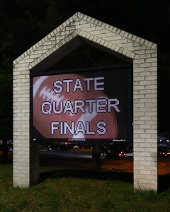 George P. Smith/The Montgomery Sentinel    State Quarter Finals