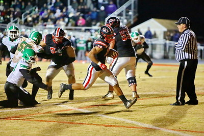 George P. Smith/The Montgomery Sentinel    Touchdown Quince Orchard's Ryan Jones (26).