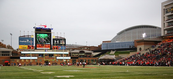 George P. Smith/The Montgomery Sentinel    Capital One Field at Maryland Stadium