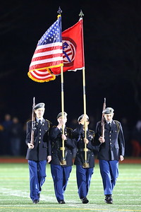 George P. Smith/The Montgomery Sentinel    St. John's Color Guard