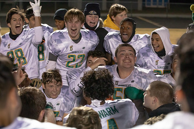 November 29, 2019 - The Damascus Hornets return to the December 5th state 3A championship game with a 21-14 win over Huntingtown. The powerhouse Hornets are shooting for their 11th state championship. Photo by Mike Clark/The Montgomerey Sentinel