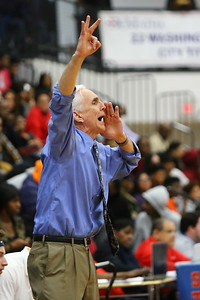 George P. Smith/The Montgomery Sentinel    Bullis' Bruce Kelley shouts instructions to his players.