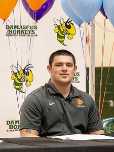 December 18, 2019 - As the nations top high school recruit in 2017, 2018, and 2019, Damascus Hornets' Defensive Linemen  Brian Bresee commits to the 2018 national champion Clemson Tigers during the December 18th national letter intent signing ceremony. Photo by Mike Clark/The Montgomery Sentinel